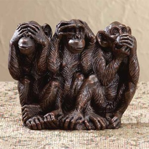 hear no evil speak no evil see no evil