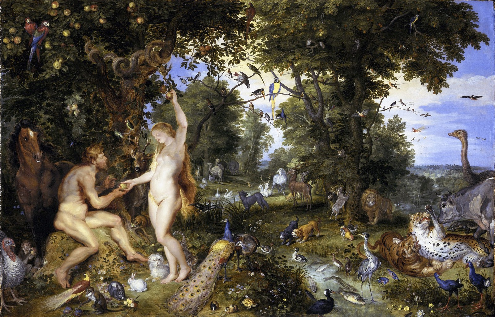 """The Fall of Man""- Ruben & Brueghel"