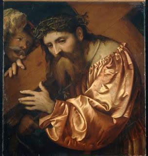 """""""Cristo Portacroce"""" - Girolamo Romano"""