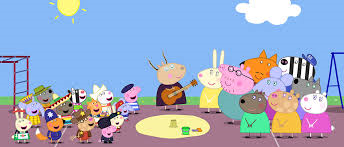peppa pigs countries don't fight