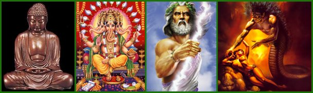 gods of different religions